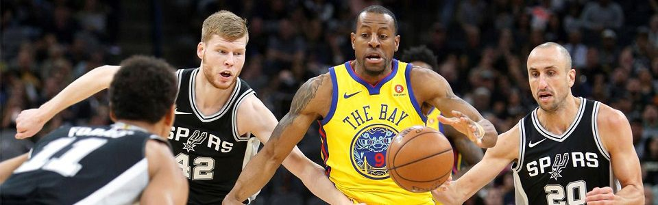 Zapowiedź I rundy Playoffów - seria Golden State Warriors (58-24) vs. San Antonio Spurs (47-35)