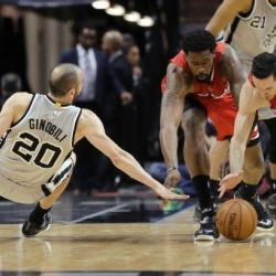 Bezradni Spurs, blowout Clippers